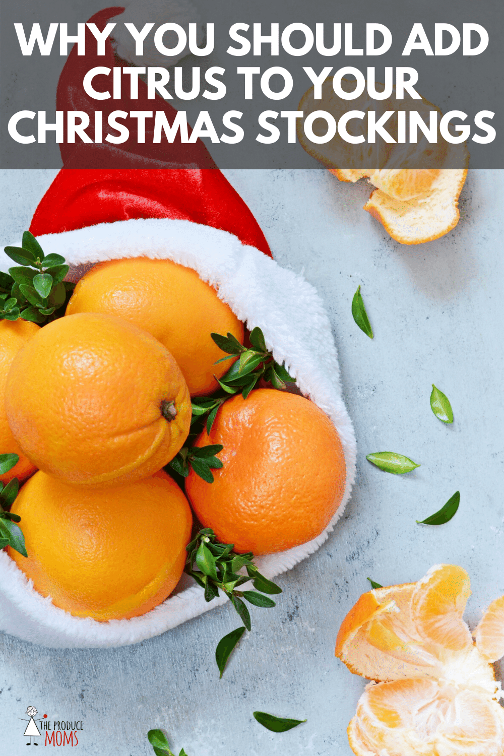 Adding Citrus To Christmas Stockings