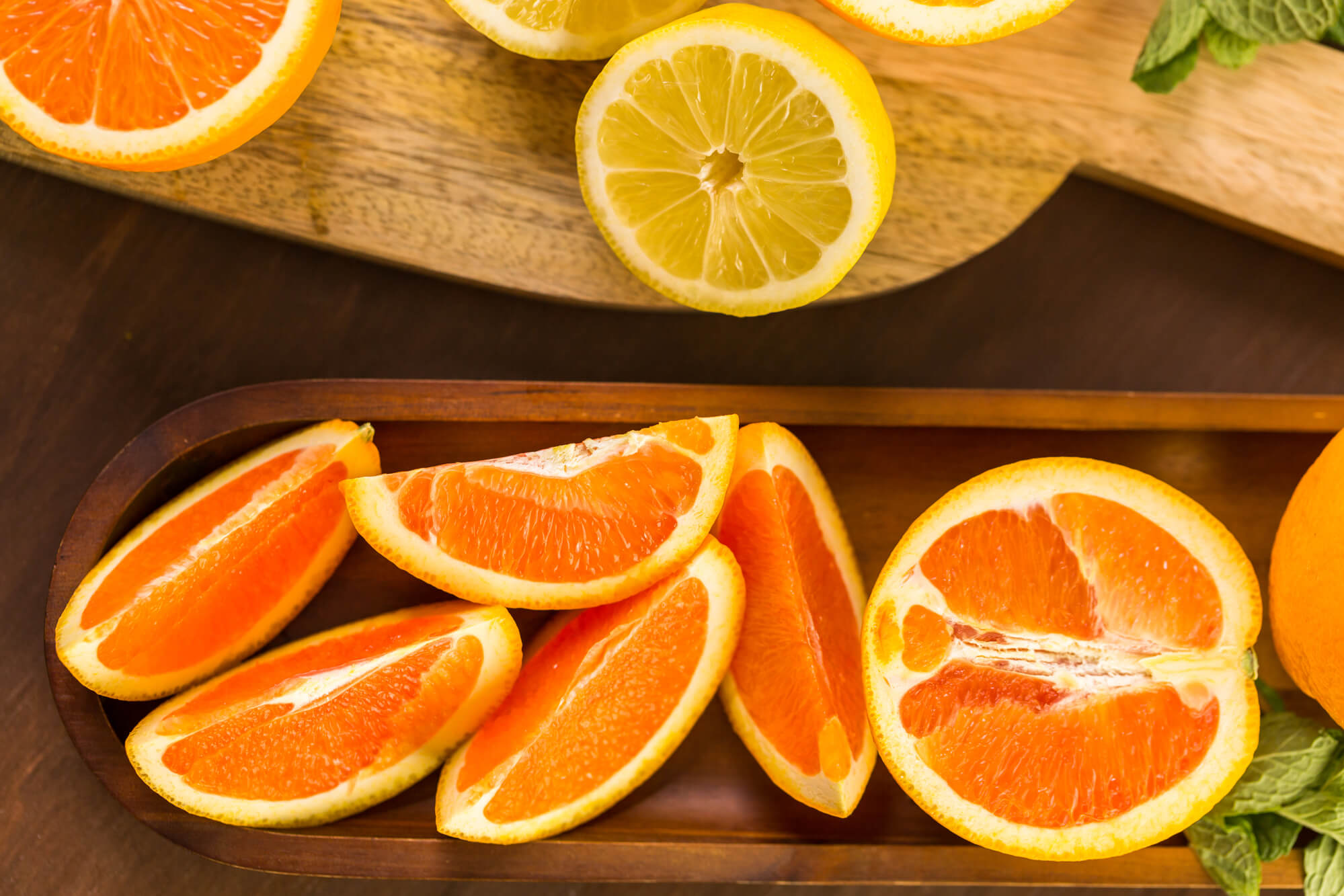 Health benefits of eating citrus