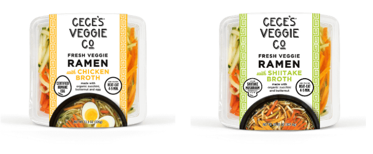 Fresh Veggie Ramen from Cece's® Veggie Co