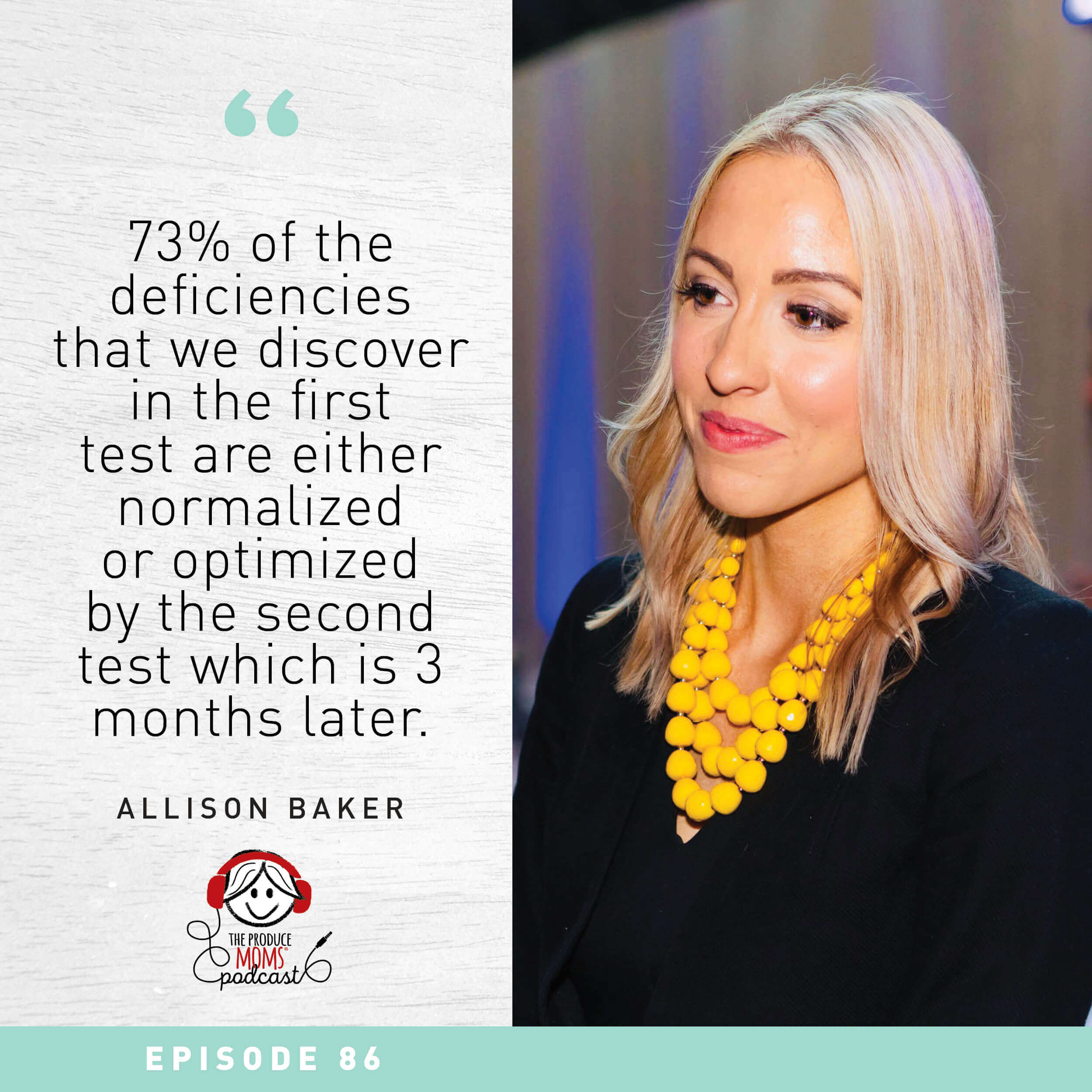 Episode 86: The Future of Nutrition is Personalized with Allison Baker, VP of Business Development at Baze