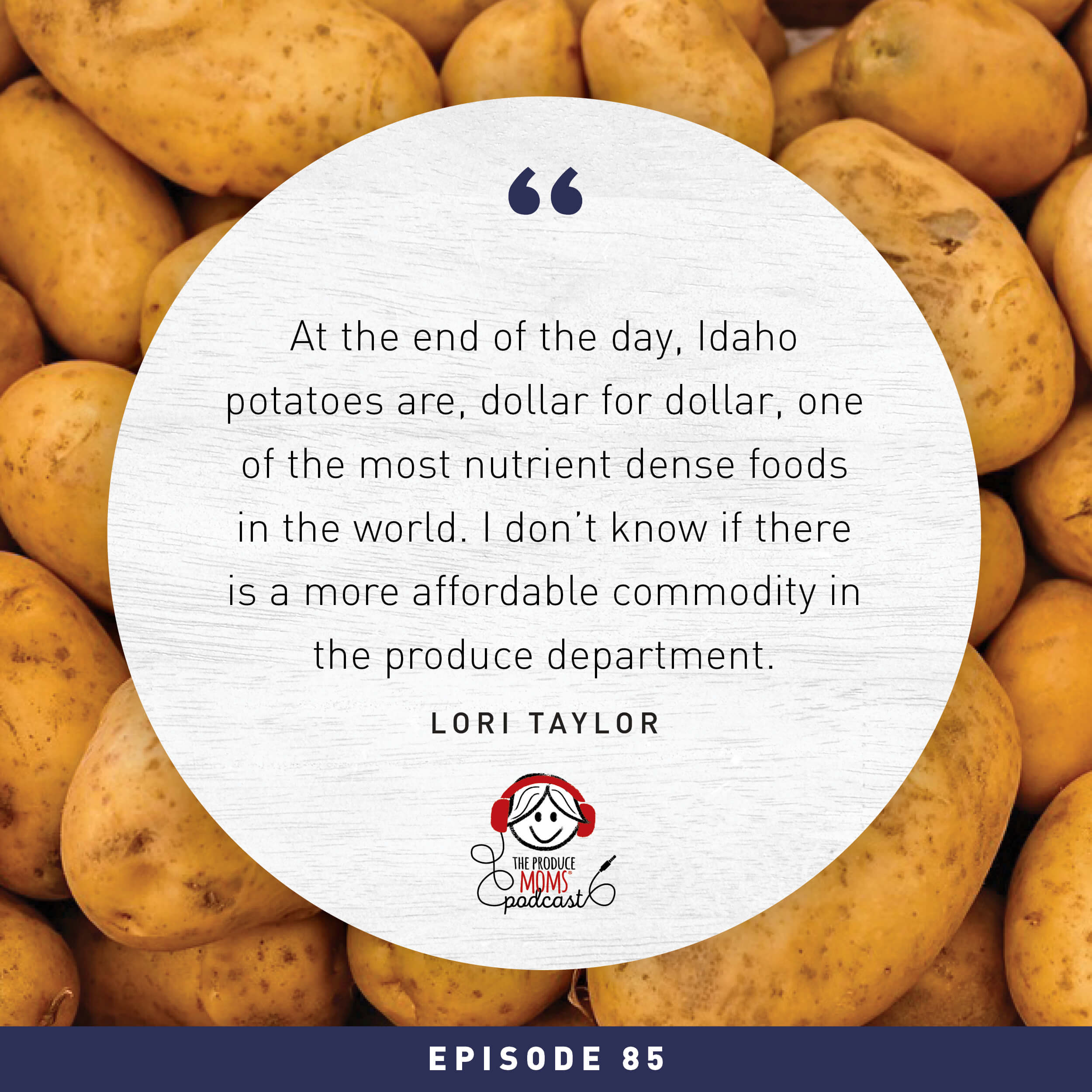 Episode 85: Facts on the French Fry Famine with Frank Muir, Idaho Potato Commission
