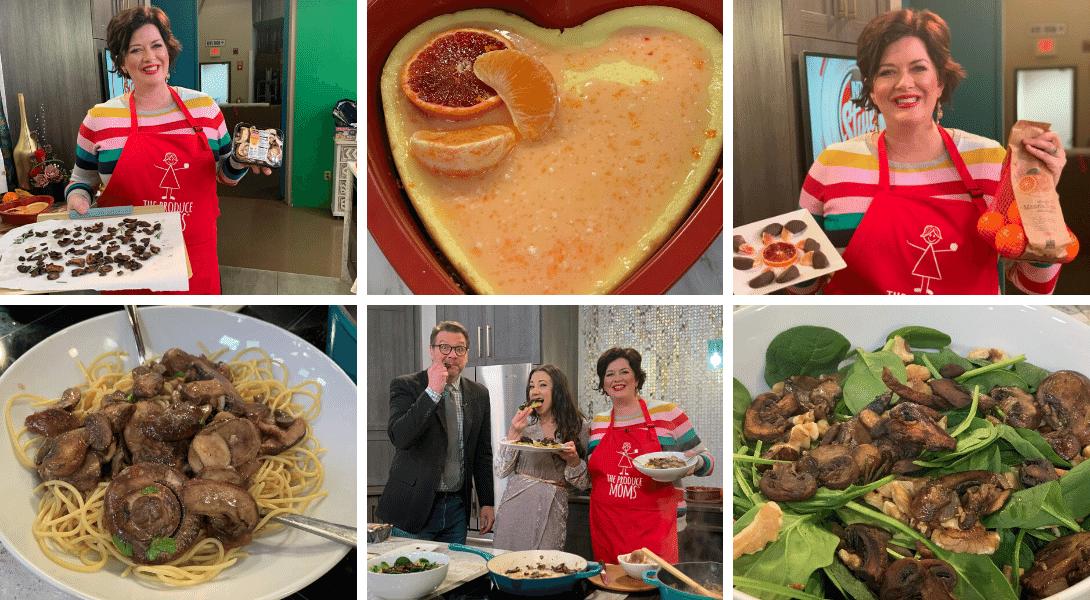 Valentine's Day Recipes featuring MadaRosa Mandarins & Mushrooms {Indy Style}