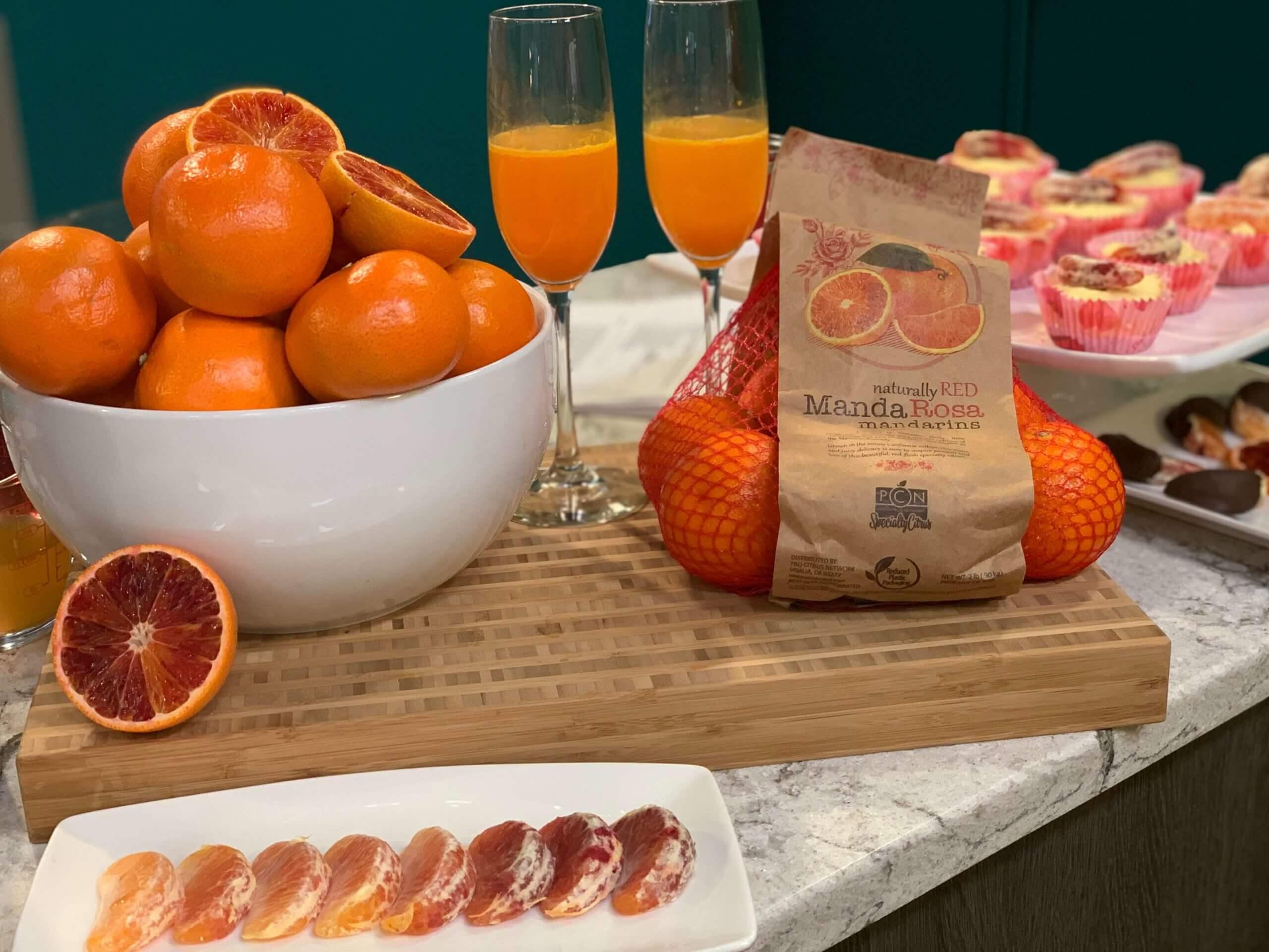 Valentine's Day Recipes: MandaRosa Mimosa