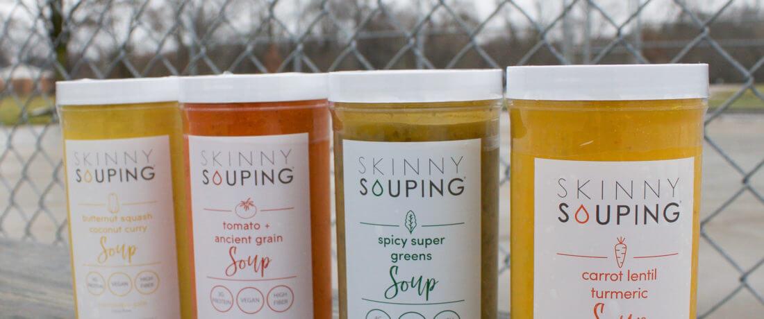 four skinny soups