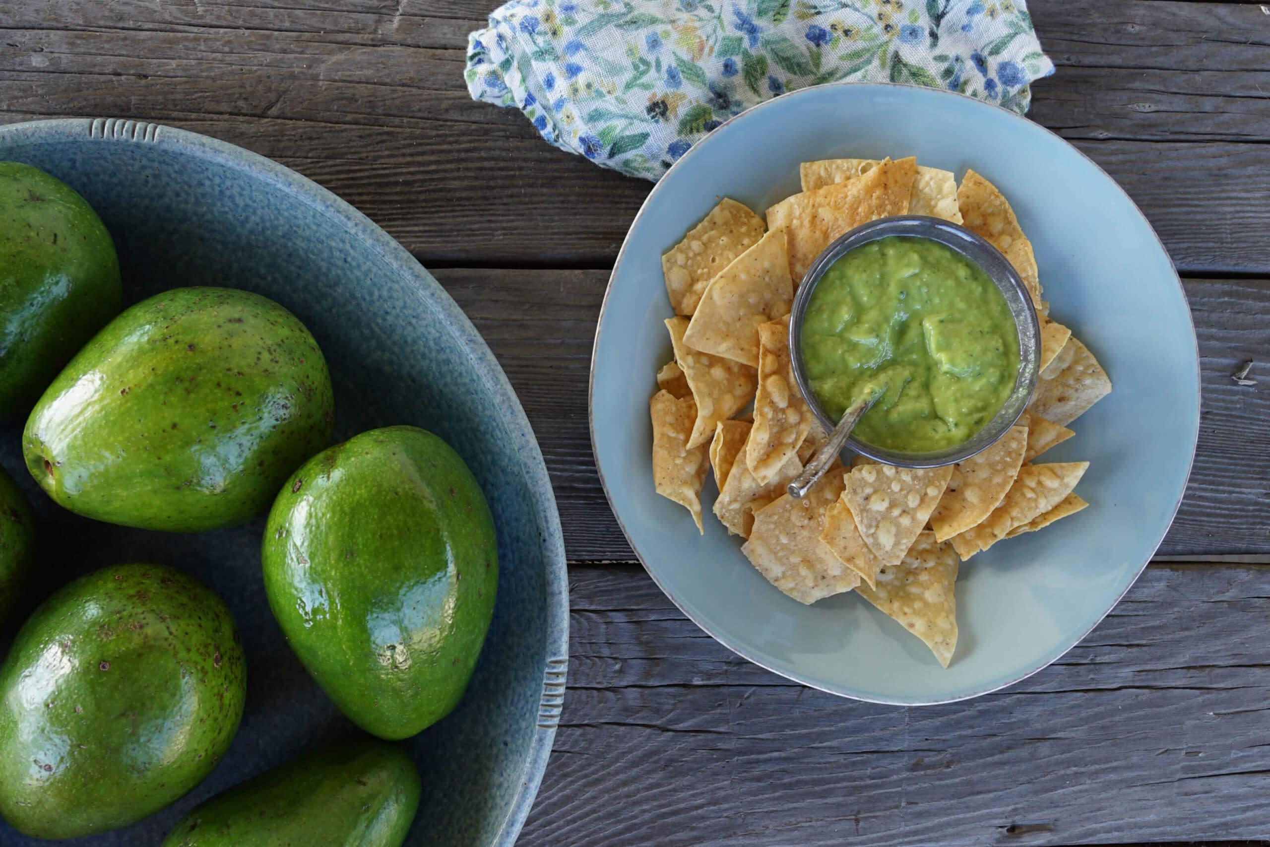 Tropical Avocado Salsa Verde
