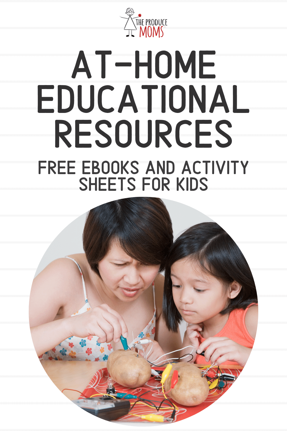 At-Home Educational Resources: Free eBooks and Activity Sheets for Kids