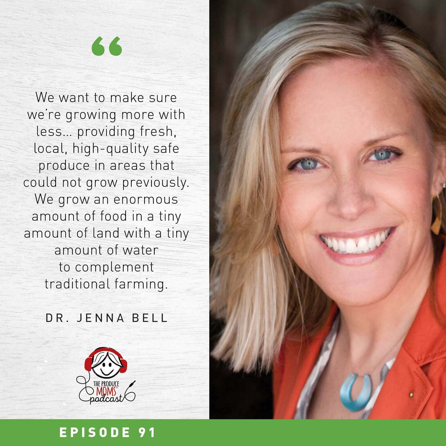 Dr. Jenna Bell photo and quote
