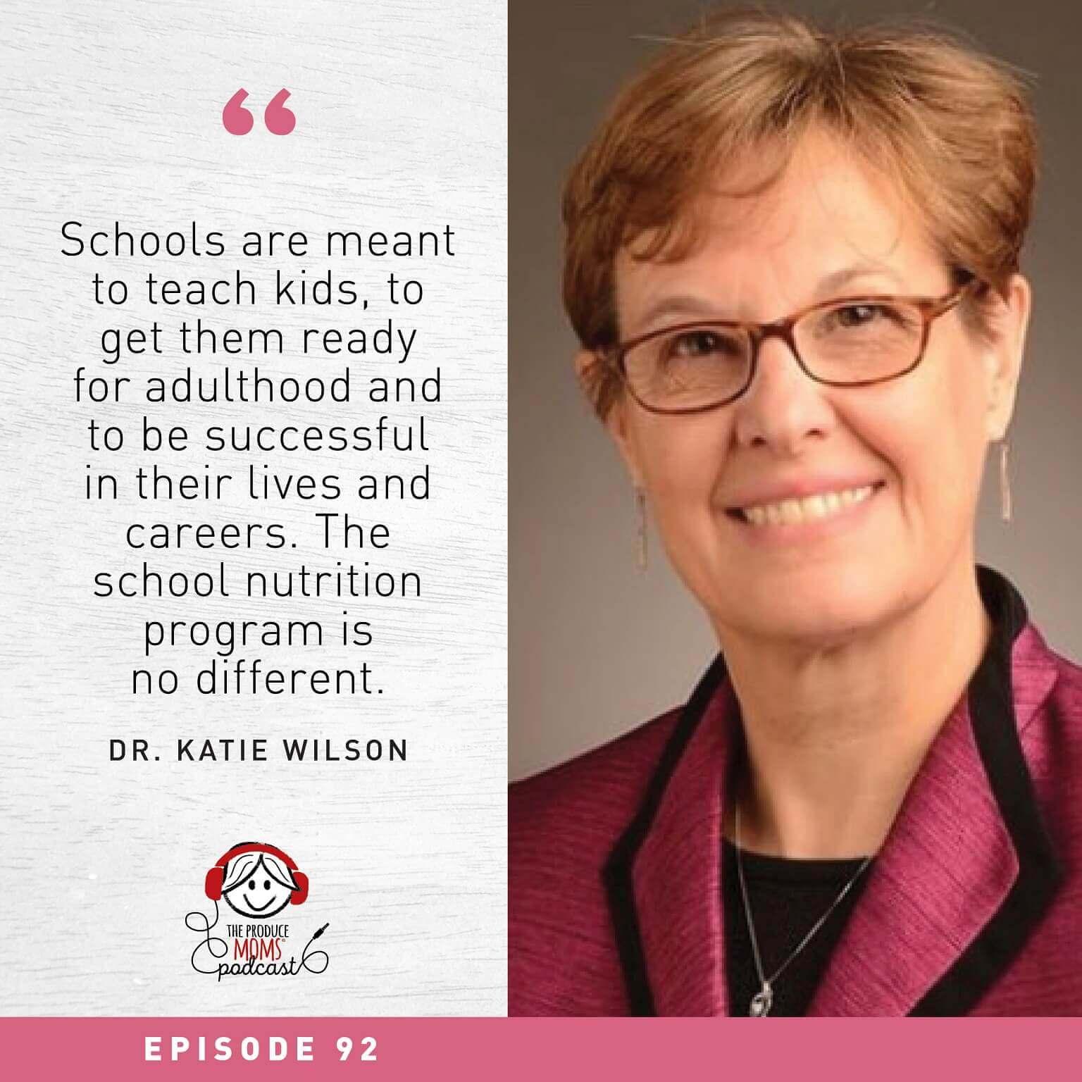 Dr. Katie Wilson quote