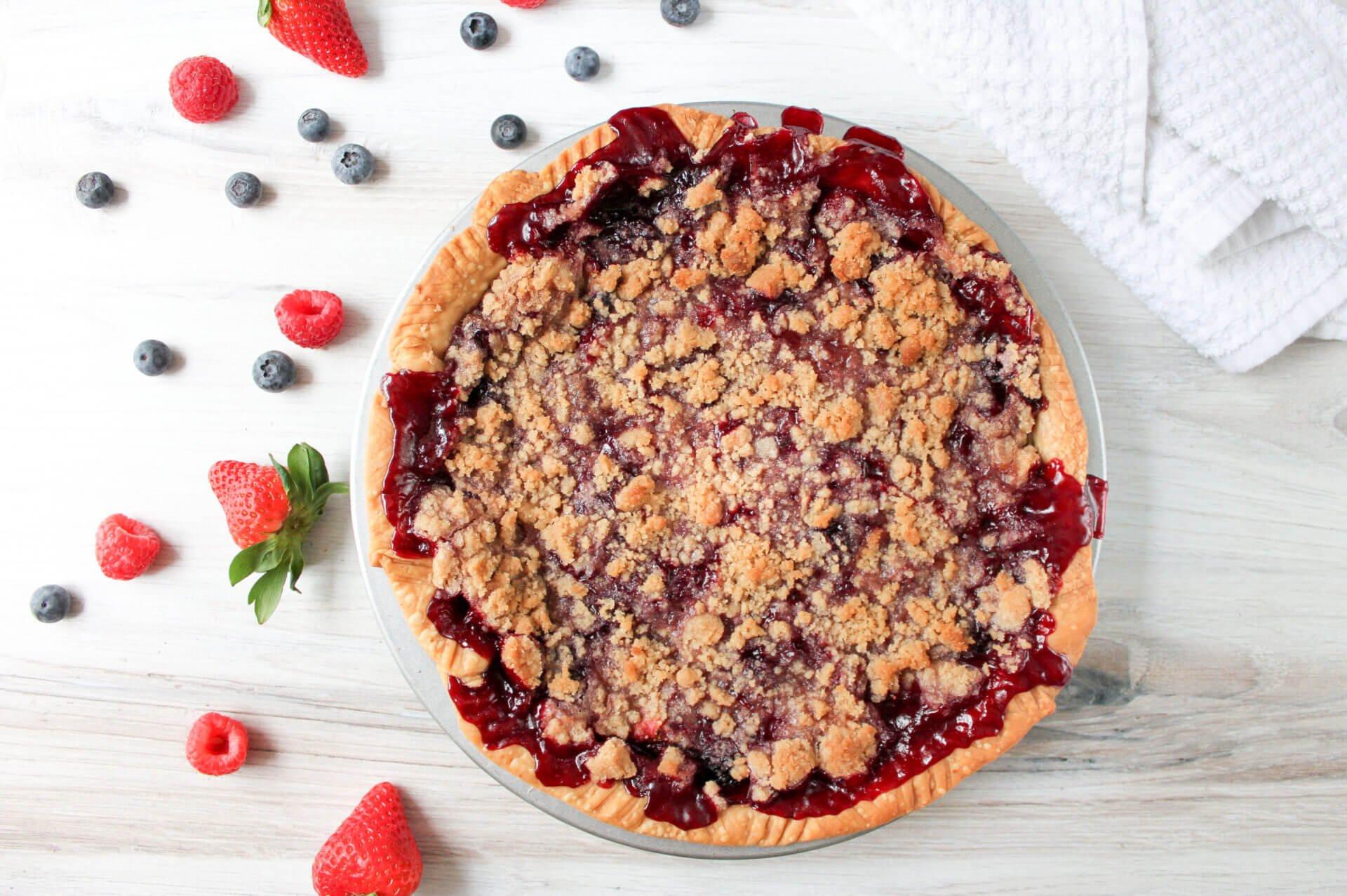 Mega Berry Pie