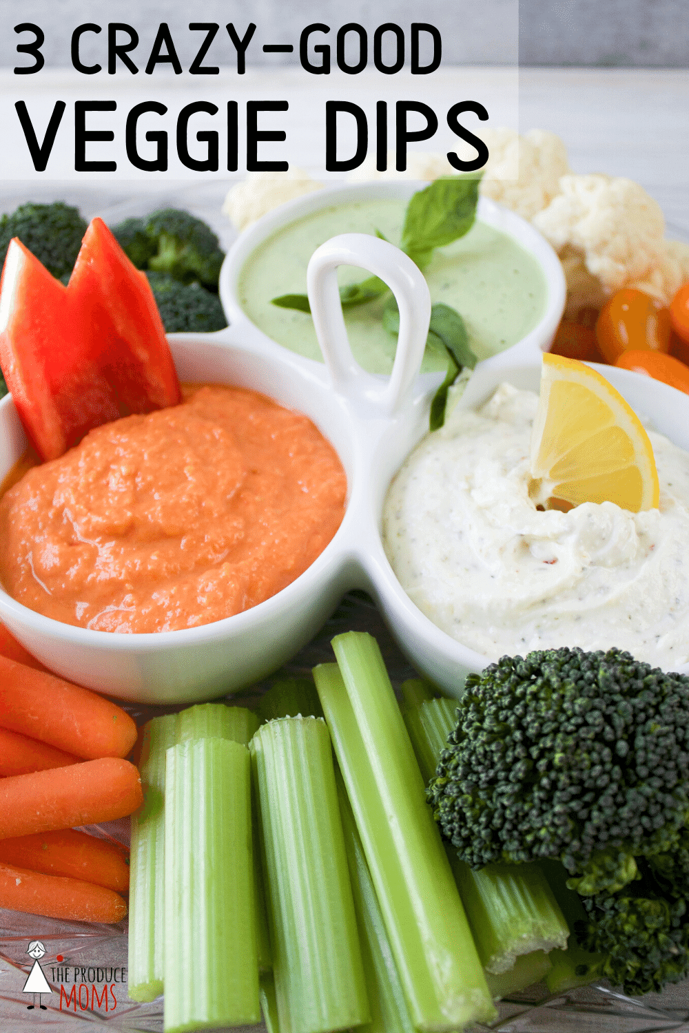 Trilogy of Veggie Dips