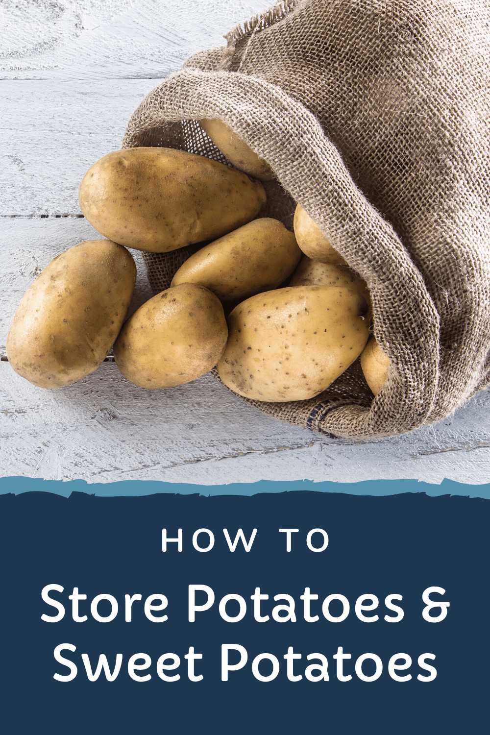 How to store potatoes and sweet potatoes