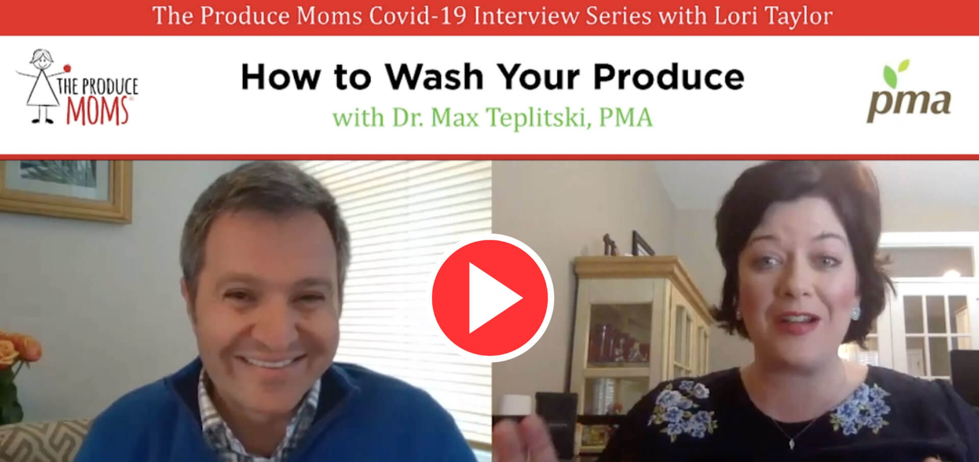 How to Wash Your Produce with Dr. Max Teplitski of the Produce Marketing Association