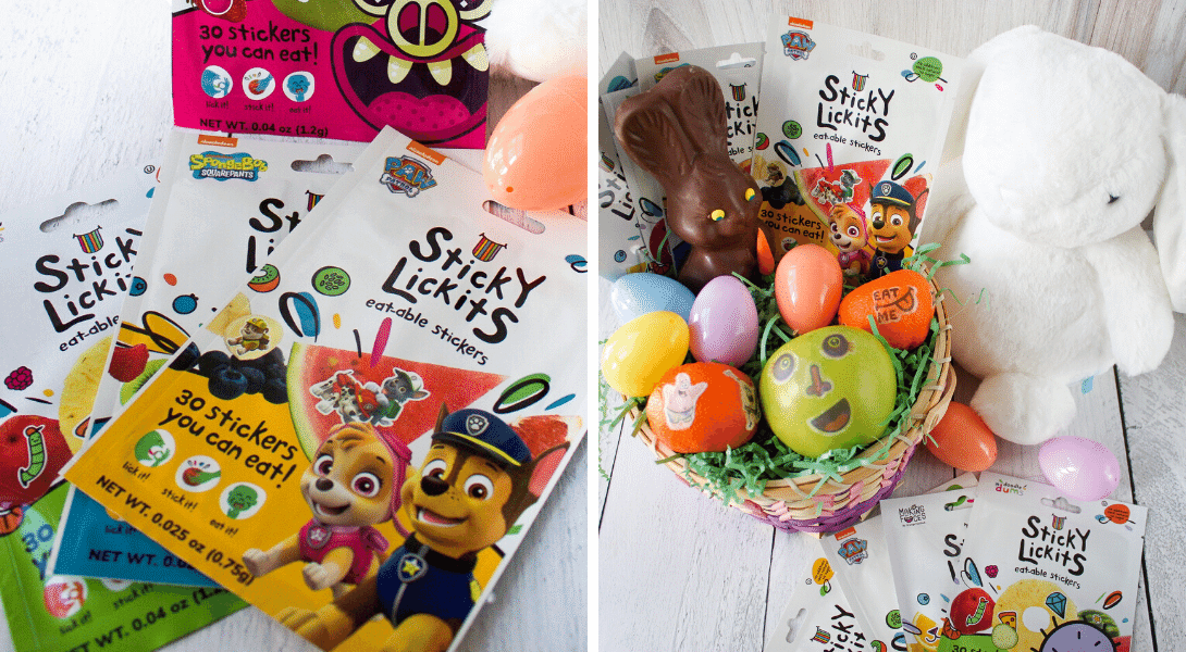Easter Basket Stuffers: StickyLickits