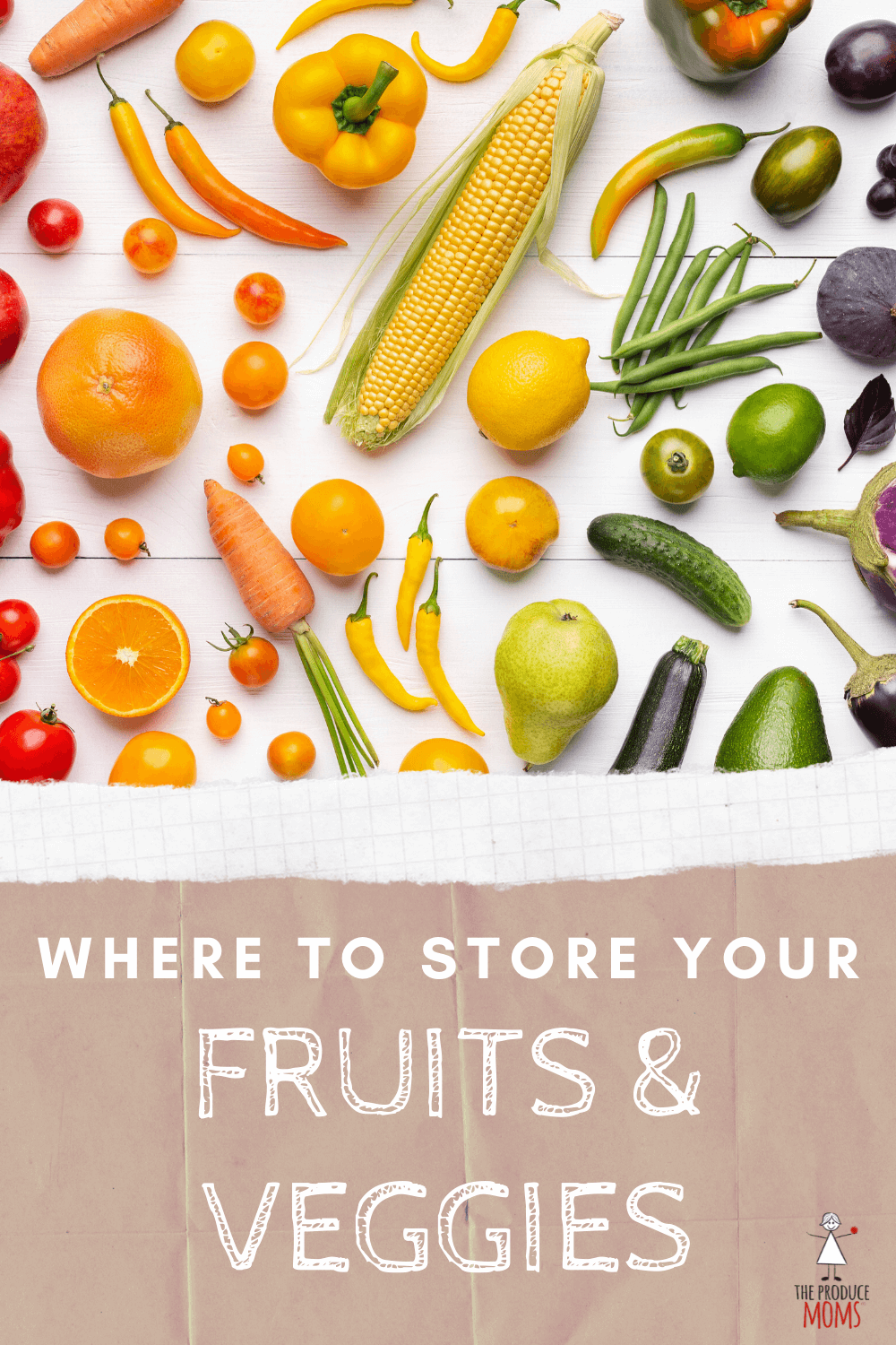 Where to store fruits and vegetables