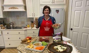 Celebrating National Salad Month & Snacking with Walnuts on Indy Style