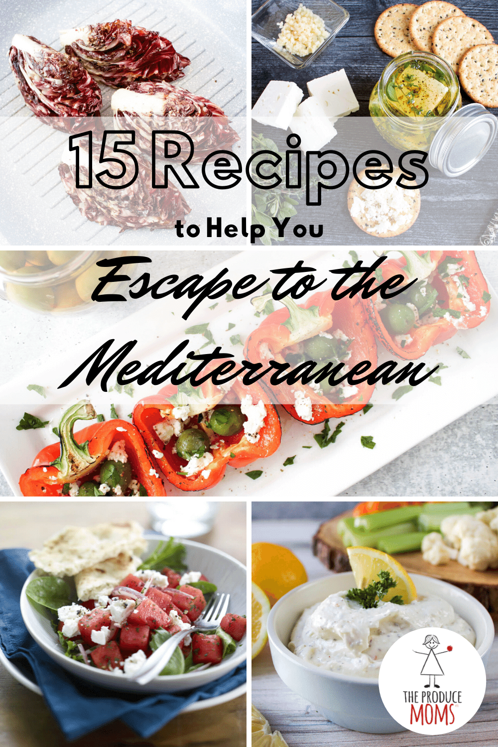 Mediterranean Recipes Pinterest Card