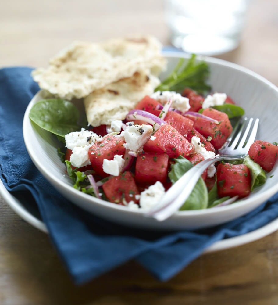 Watermelon Mediterranean Salad