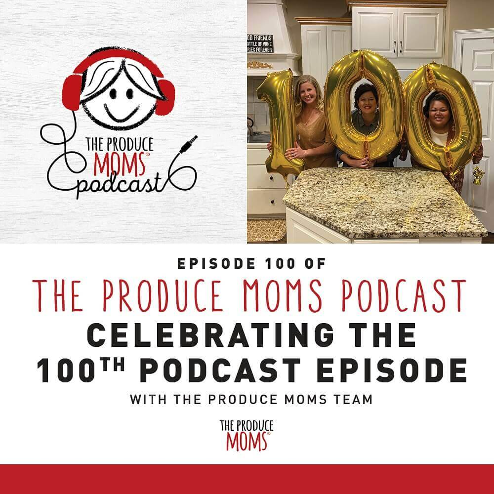 The Produce Moms 100th Episode Instagram Banner