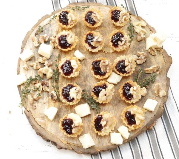 Toasted Walnuts and Blackberry Jam Bites Featured Image
