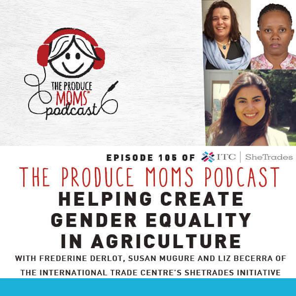 Episode 105 Gender Equality in Agriculture Instagram Card