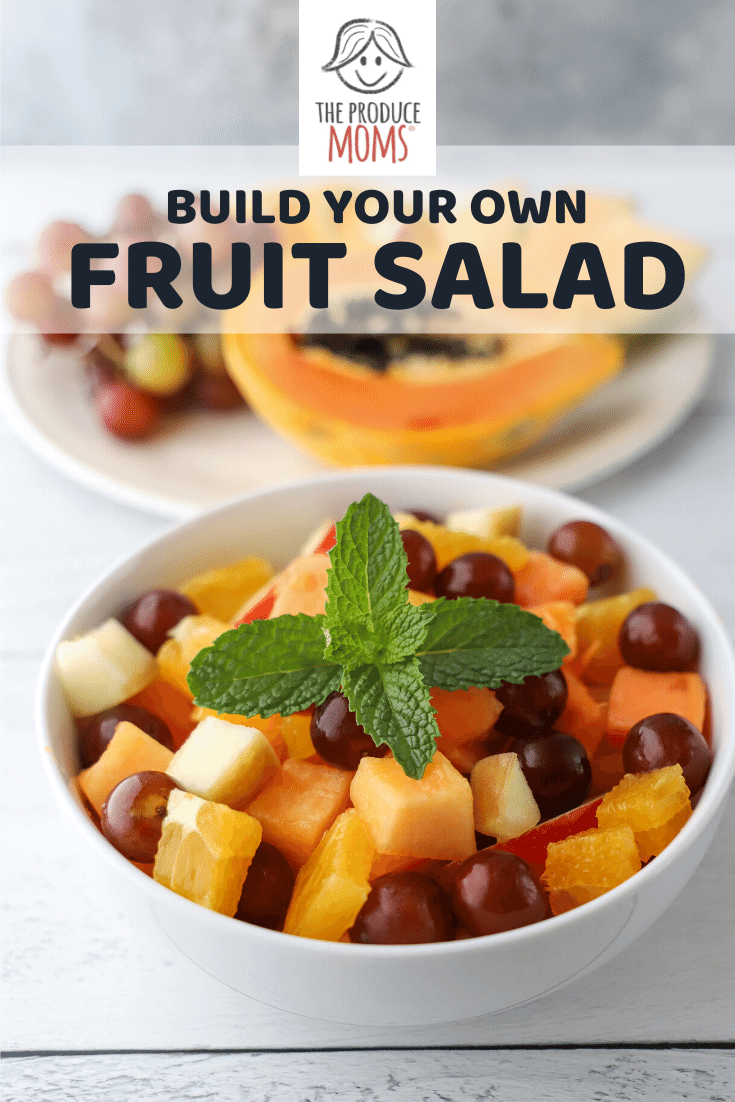 Build your own fruit salad