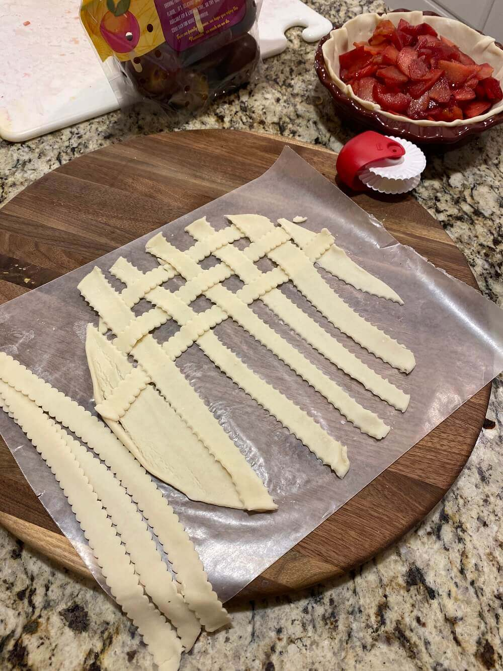 Slicing the lattice