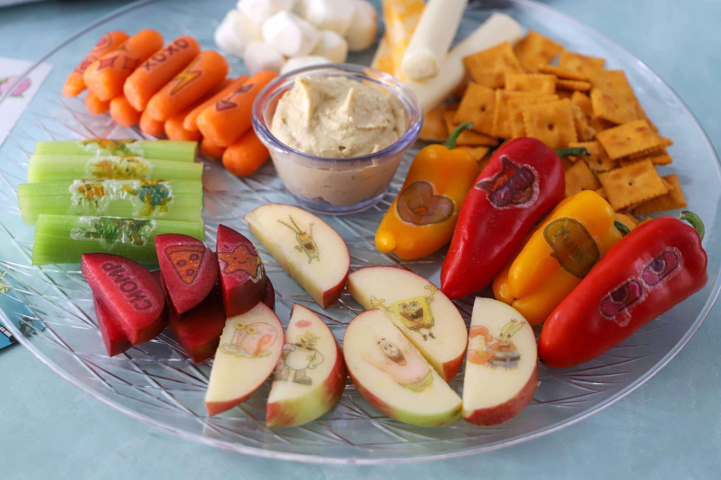 StickyLickits Poolside Snack Tray