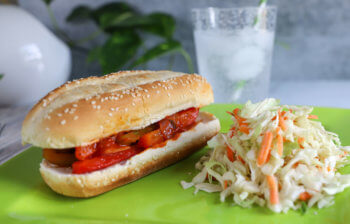Slow Cooker Freezer Meal: Italian Sausage Hoagies