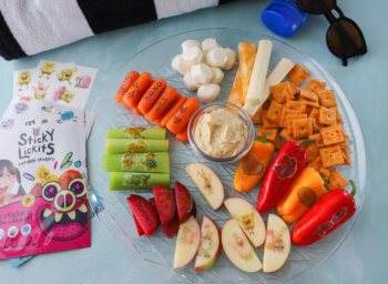 StickyLickits Poolside Snack Tray
