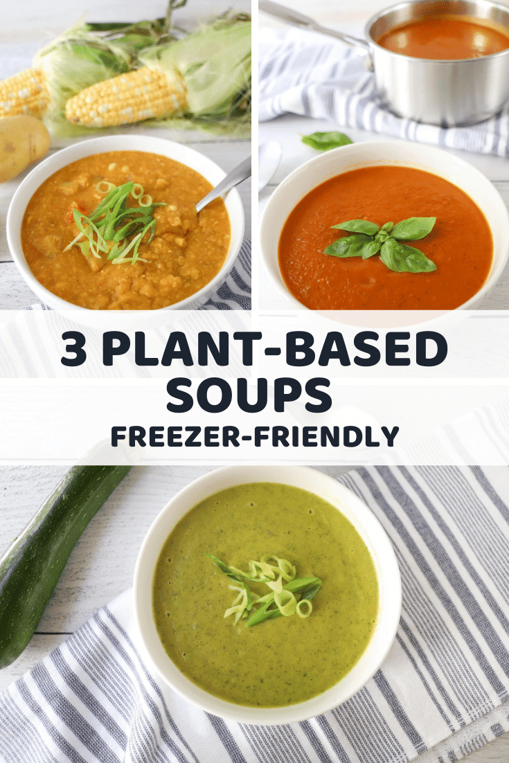 Freezer-Friendly Plant-Based Soups