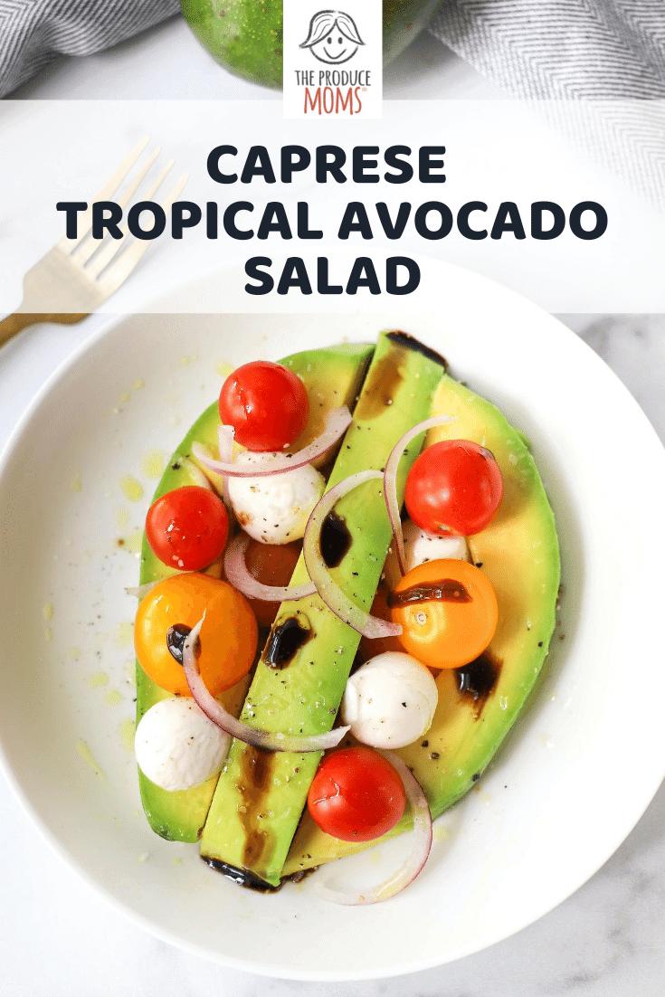 3 Simple Tropical Avocado Salads