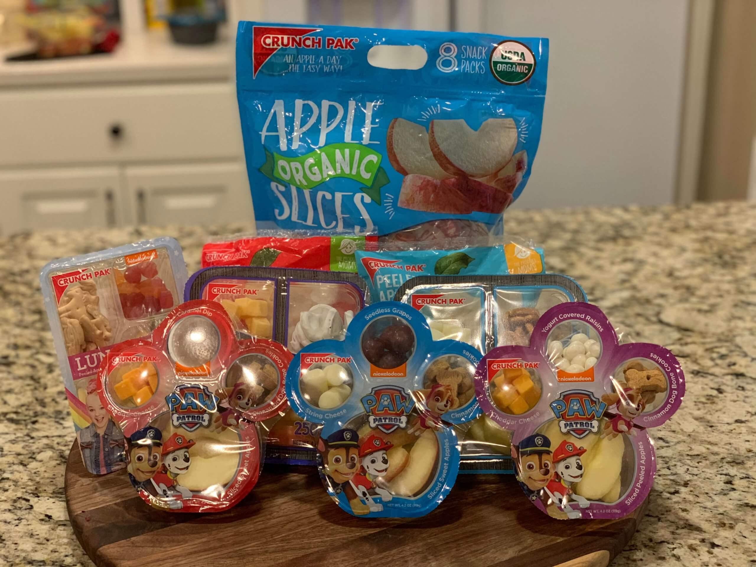 Crunch Pak back-to-school favorites