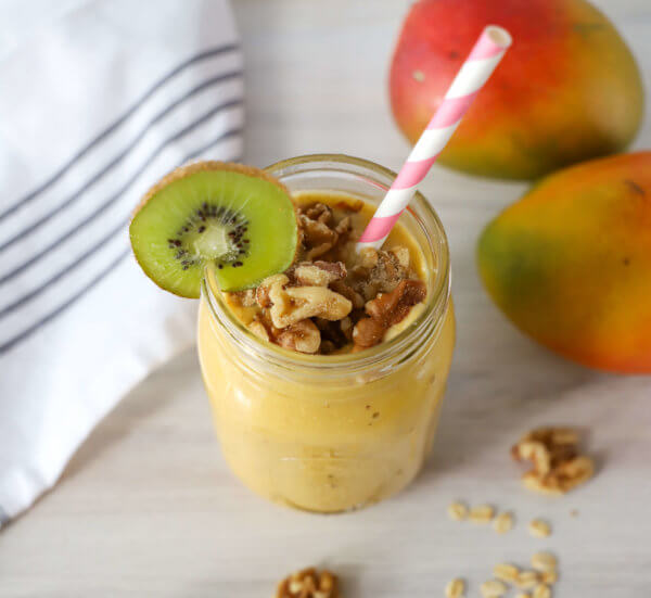 Mango Walnut Powerhouse Smoothie