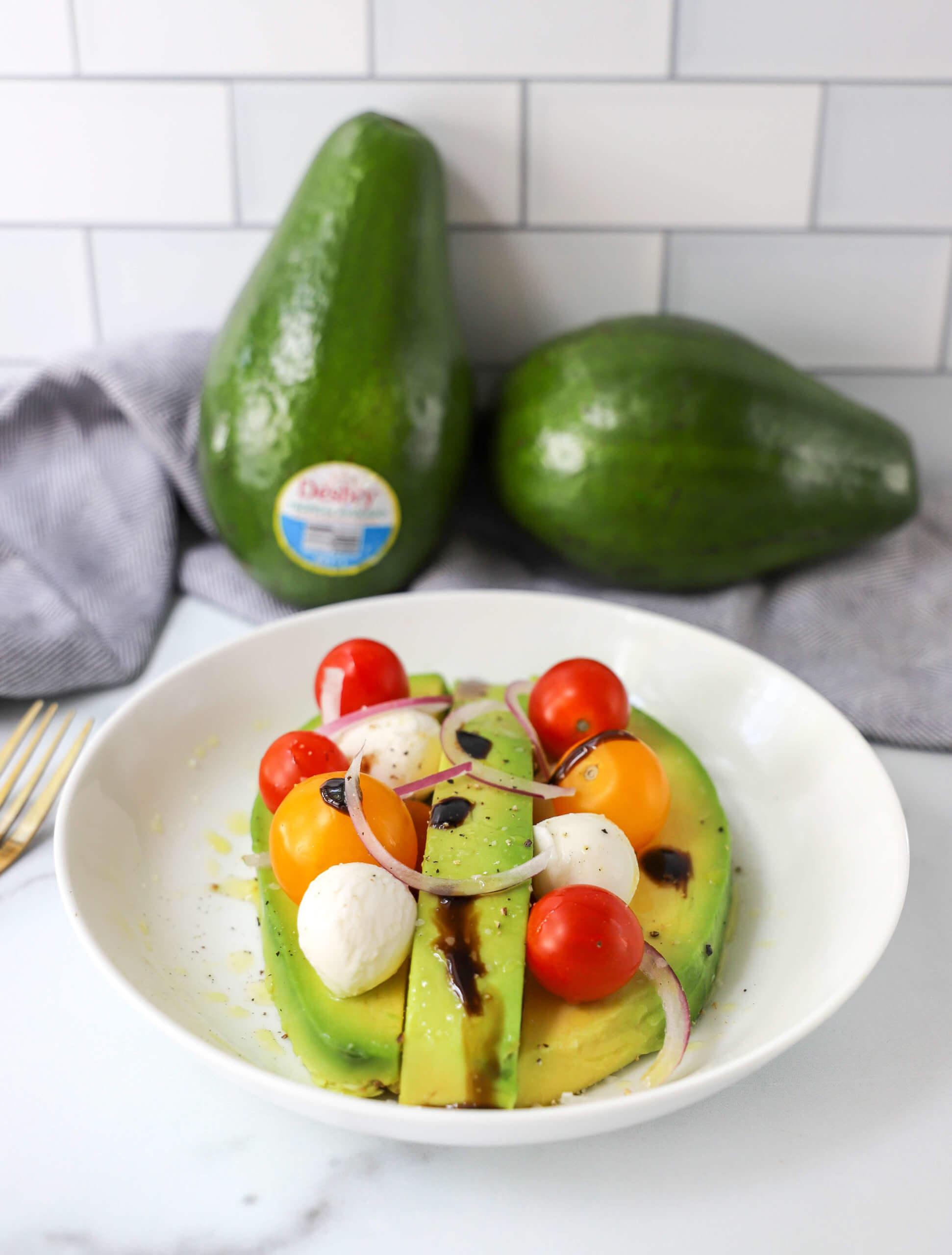 Caprese Tropical Avocado Salad