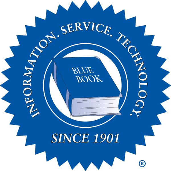 Blue Book Services Logo
