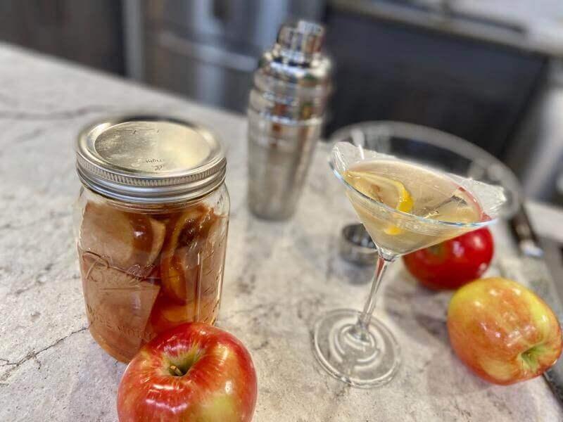 Apple martinis