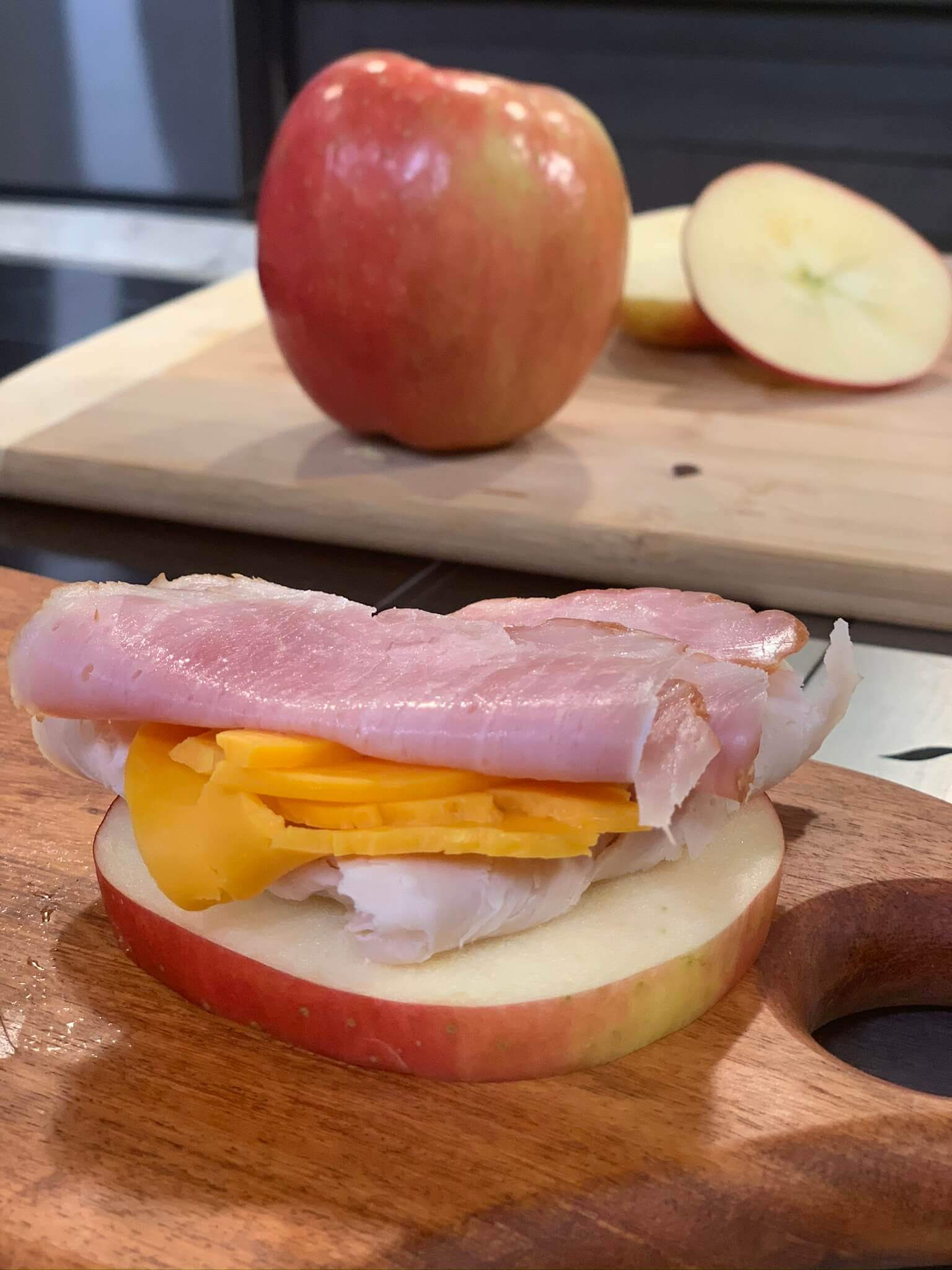 Indy Style Fall Flavors Apple Ring Sandwiches