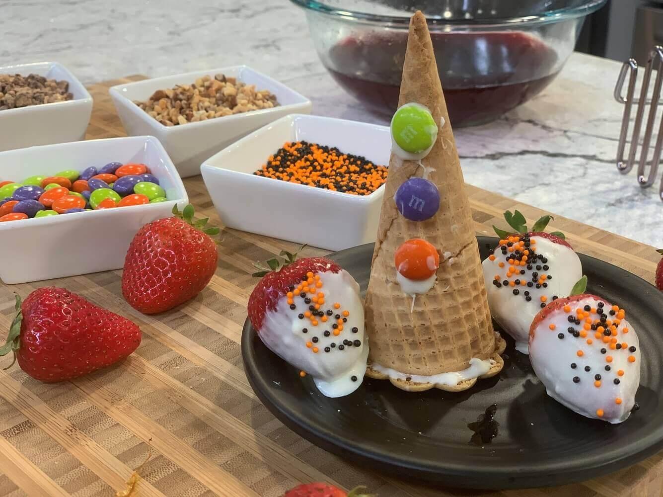 Halloween Treats with Berries