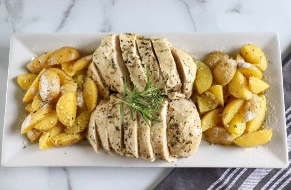 Instant Pot Chicken and Potatoes Banner Image