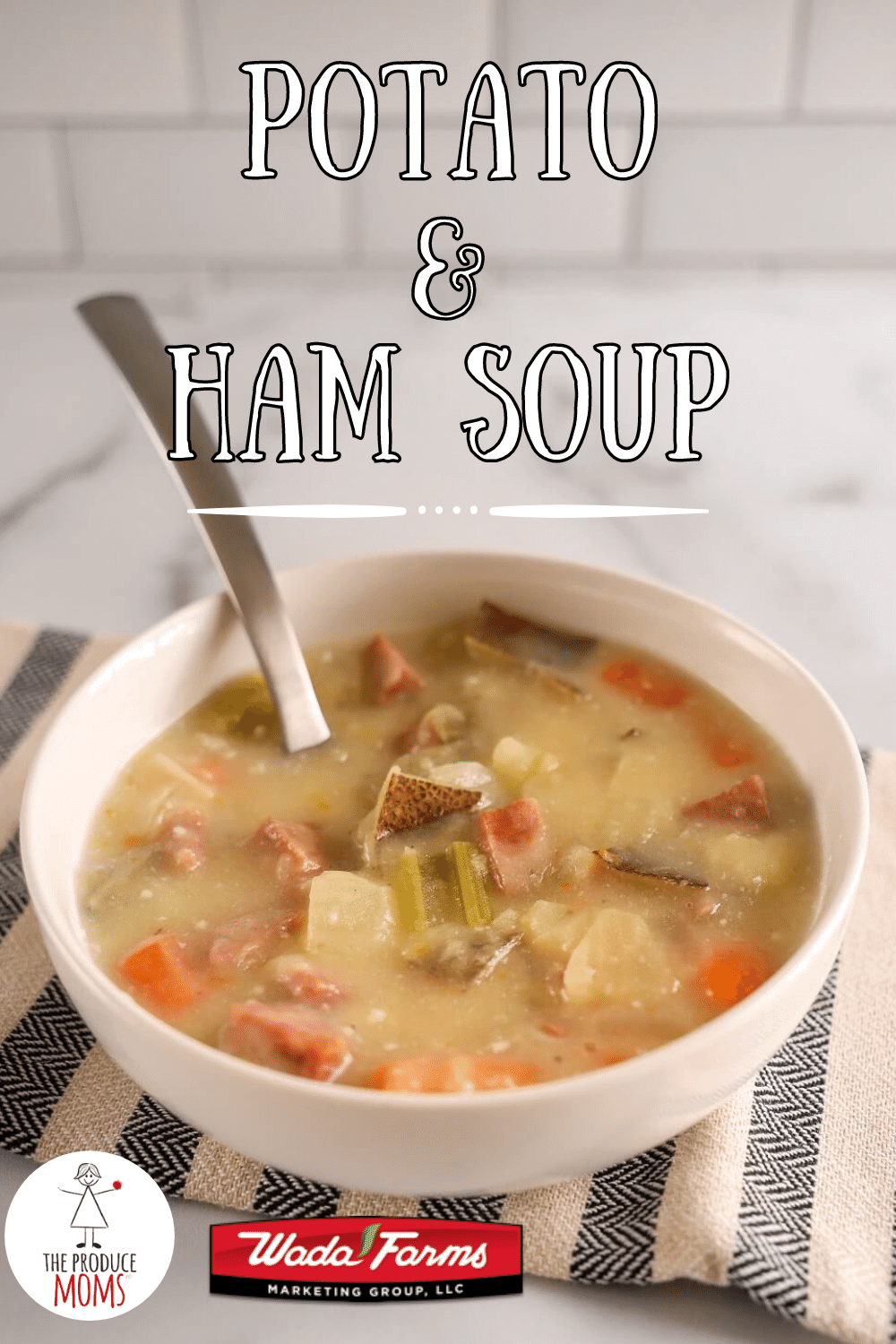 Slow Cooker Potato and Ham Soup