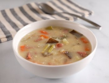 Potato and Ham Soup Banner Image