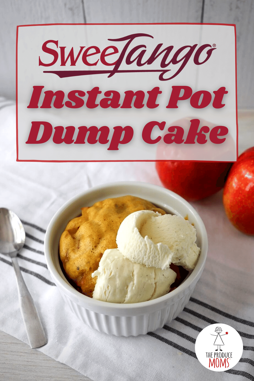 SweeTango Instant Pot Dump Cake Pinterest Card