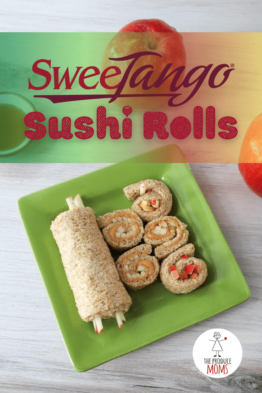 SweeTango Sushi Rolls Pinterest Card