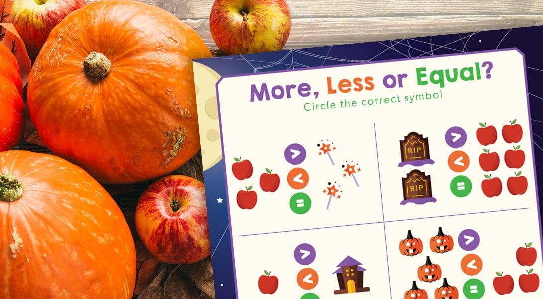Applewood Fresh: Halloween Activity Sheet
