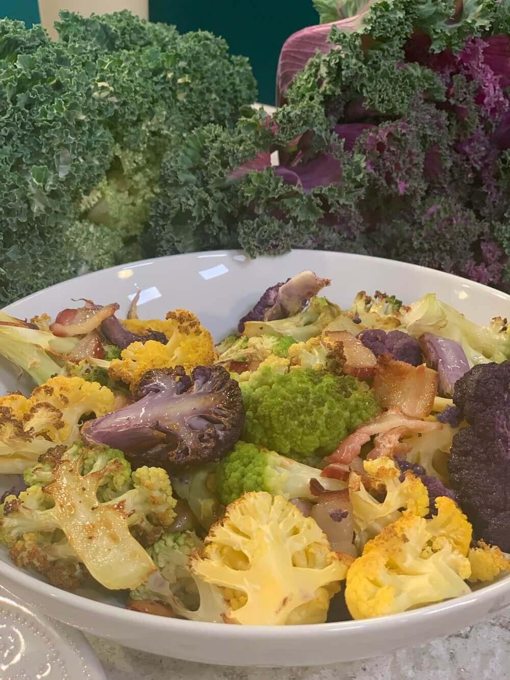 Tricolor Cauliflower Mash