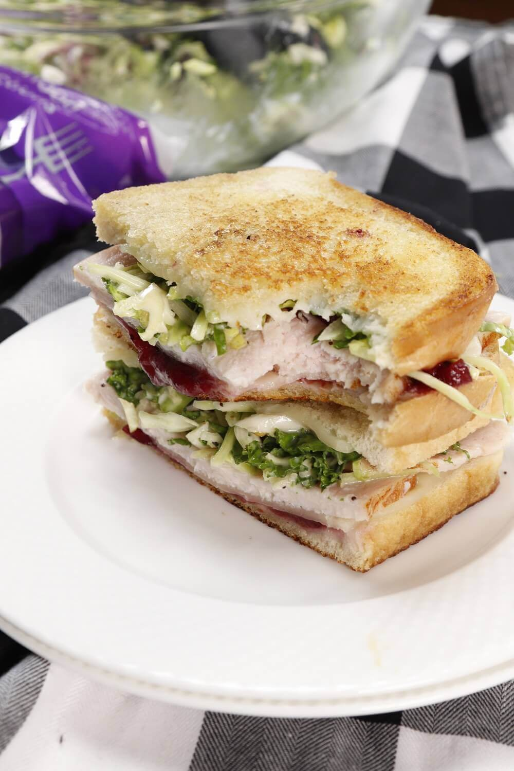 Bite into a Eat Smart® Sweet Kale, Turkey and Cranberry Sandwich