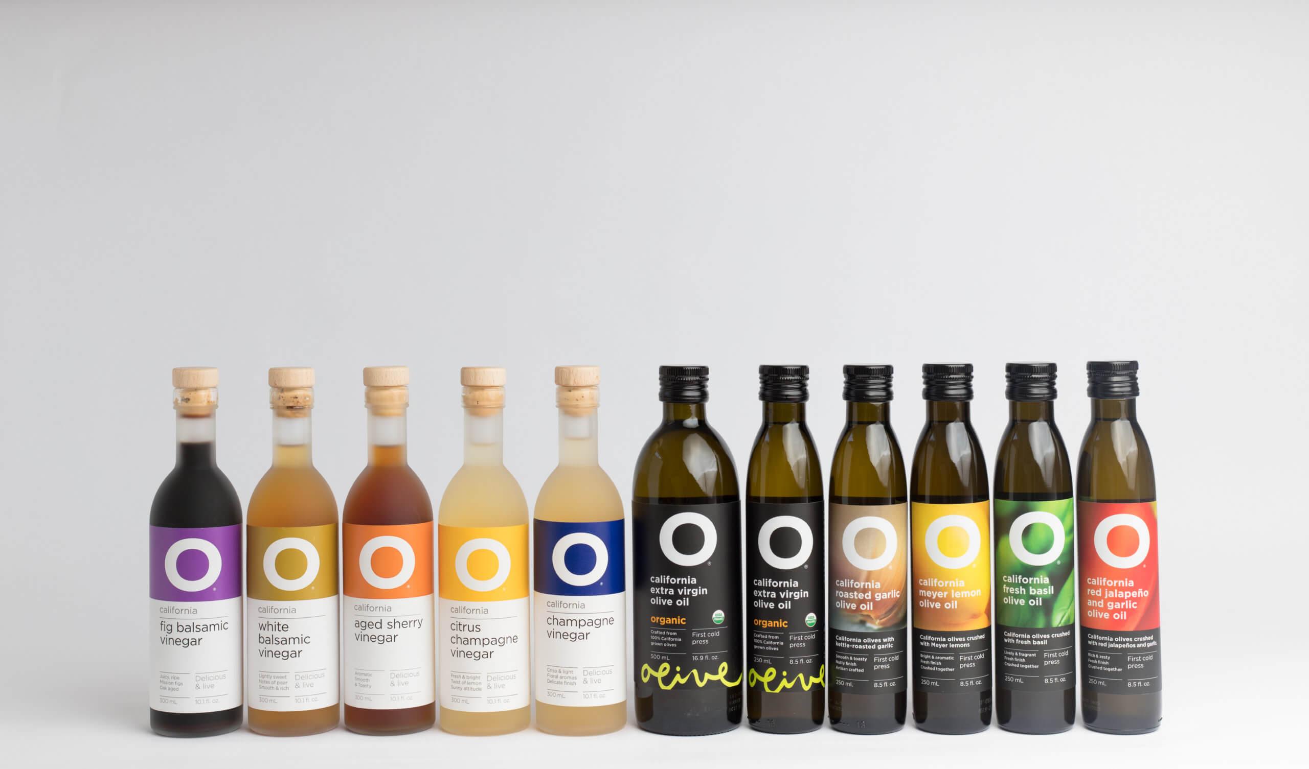 O Olive Oils & Vinegar products