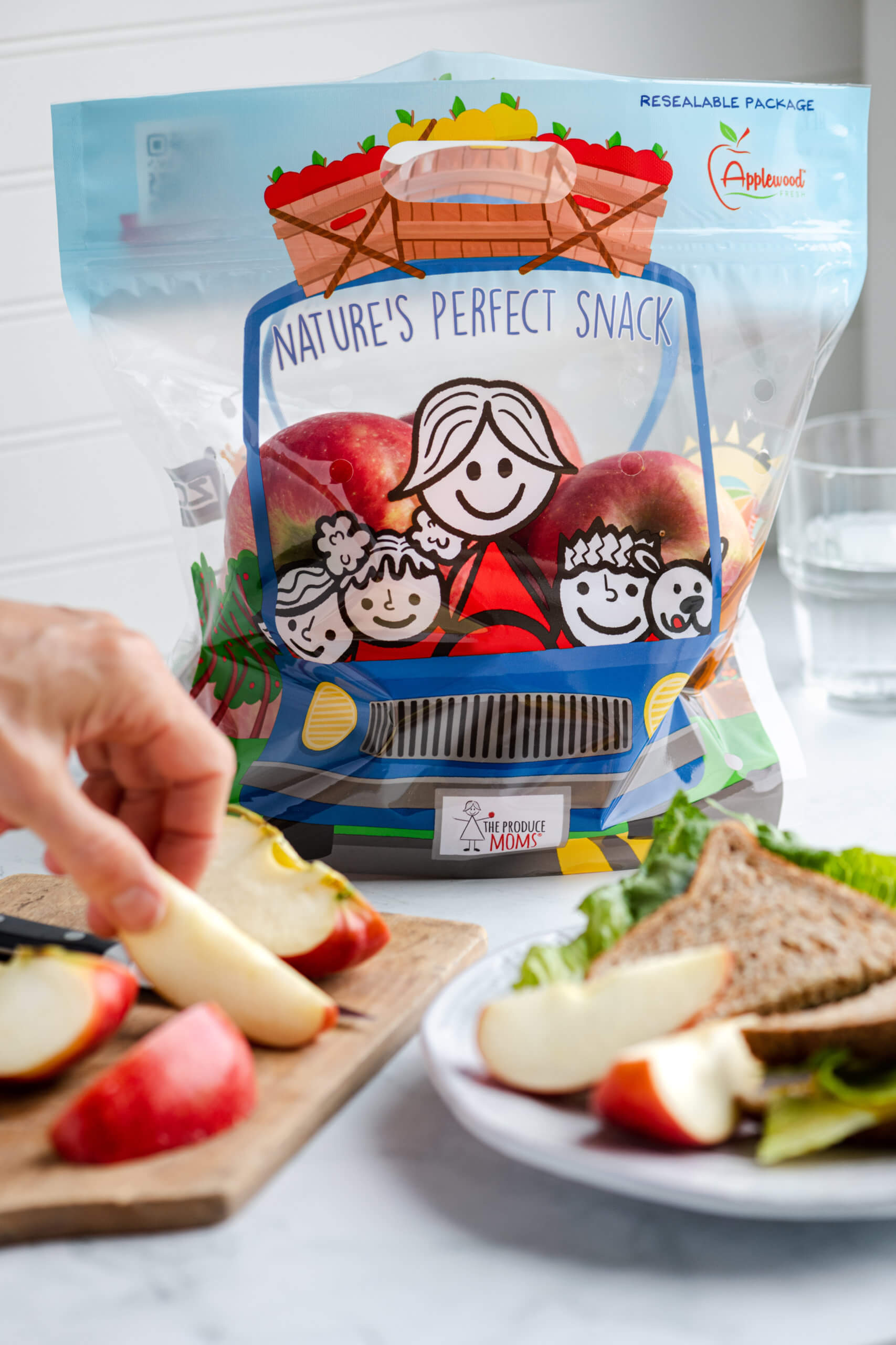 The Produce Moms and Applewood Fresh Present Nature's Perfect Snack
