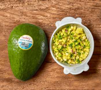 Tropical Avocado Pineapple Salsa Banner Image