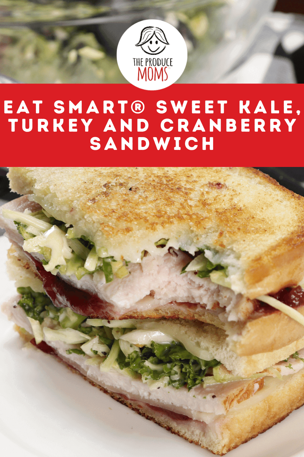 Eat Smart® Sweet Kale, Turkey and Cranberry Sandwich Instagram Card